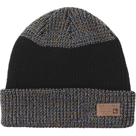 Hippy Tree Continental Gorro Hombre, black